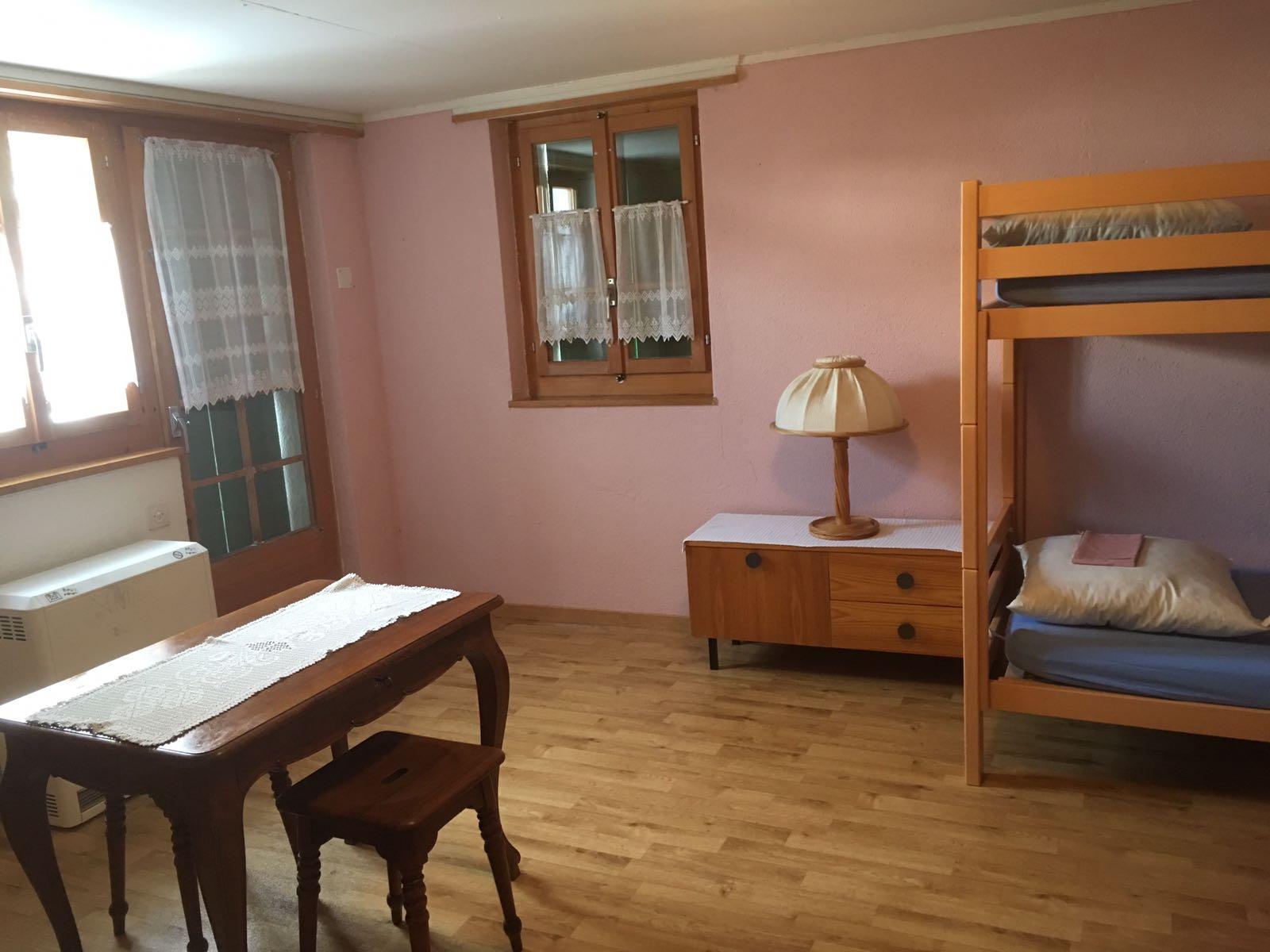 1 Zimmer mit 2 Kajütenbetten